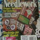 Dec 1996 McCall's Needlework Magazine 18 Patterns Knitting Crochet Cross Stitch