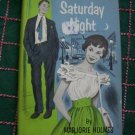 Vintage Marjorie Holmes 1950's Hardback Book Saturday Night