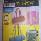 0 USA S&H Uncut Simplicity Sewing Patterns for Dummies 4979 Assorted Tote Bags
