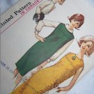Vintage 1960s Sewing Pattern 5537 Misses Jumper or Dress & Blouse Bust 31 XXS XS S