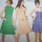 Sewing Pattern 2380 McCall's 70s Vintage Misses Dress Two Piece Front Yoke Patch Pockets Sz 10