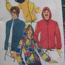 Uncut 70s Vintage Sewing Pattern 9413 Misses Spring Jacket With or Without Hoodie Bust 32.5