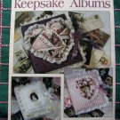 Leisure Arts Pattern Leaflet 1436 Keepsake Photo Albums Patterns Instructions