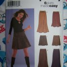 FREE USA S&H Uncut Sewing Pattern 5351 Womens Skirts 6 Sew Easy 12 14 16 18 20