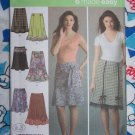 Uncut Sewing Pattern 4494 Easy Set of 6 Skirts Plus Size 14 16 18 20 22
