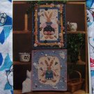 2 New Easter Bunny Rabbit Quilted Wall Hangings Quilt Sewing Pattern