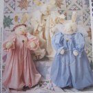 New Huge Angel Bunny Rabbit Stuffed Doll & Clothing Sewing Patterns 2063