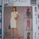 FREE USA S&H NEW Sewing Pattern 9007 Misses Plus Size Dress 20 22 24