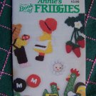 18 Vintage Annie's Patterns Club Book of Fridgies Refrigerator Magnets