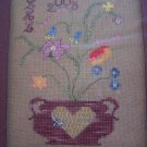 2005 New Fancy Flowers 2 Cross Stitch Pattern Chart & Embellishments Pack
