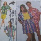 Uncut Vintage XL  Misses Mens Teen Boys Sewing Pattern 9085 Shorts Pants Shirt Skirt