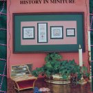 4 Historic Samplers Cross Stitch Patterns History In Miniature Eileen Bennett