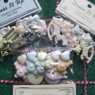 SALE 3 New Packages Dress IT Up Baby Buttons Flatbacks Shank Scrapbooking Crafts Lot
