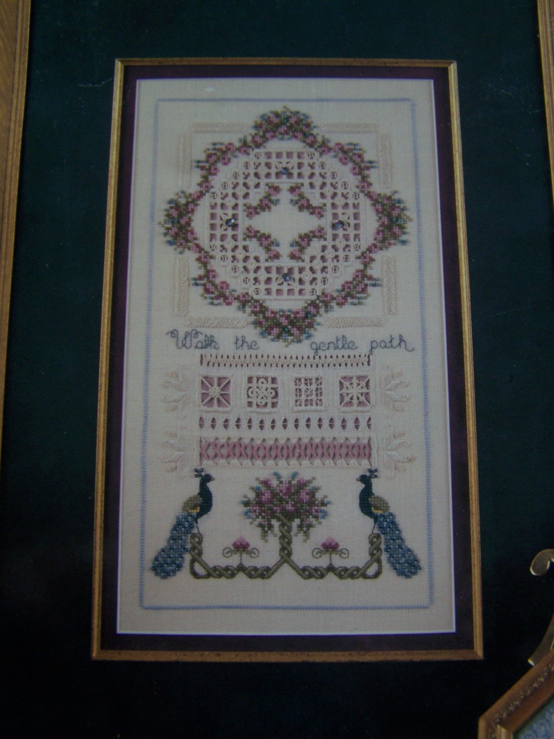 Cross N Patch Walk the Gentle Path Cross Stitch Hardanger Embroidery Patterns 118