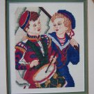New Victoria's Needle Cross Stitch Chart Adam & Alexander Pattern