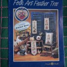 Mill Hill Folk Art Feather Tree Cross Stitch Pattern Chart