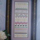New 1999 Lenarose Chart Pattern Hardanger Embroidery Sampler Needlepoint