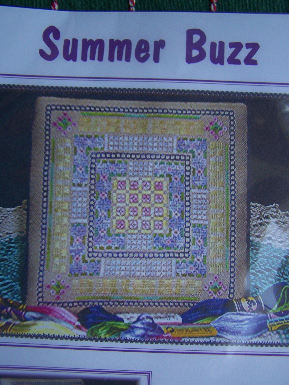 New LenaRose Designs Summer Buzz Cross Stitch Pattern