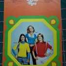 New Vintage Jack Frost Knitting Patterns Gypsy Hippie Pullover Sweater Tops