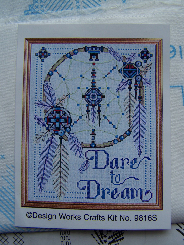 Design Works Stamped Cross Stitch Kit Dare To Dream