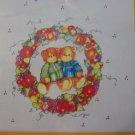 Free USA S&H New Iron On Transfer Thanksgiving Fall Autumn Harbest Bears Wreath
