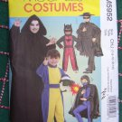 S&H Free USA New Sewing Pattern 5952 Hero Halloween Costumes Dress Up