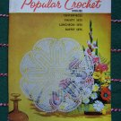 New Vintage Lily Popular Crochet Pattern book 203