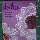 New Vintage Crochet Patterns Book 208 Doilies Centerpiece Vanity Placemats