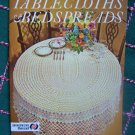 New Vintage Tablecloths & Bedspreads Crochet Patterns Star Book 224