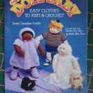 Vintage Doll Baby Knitting & Crochet Patterns for 7 Outfits