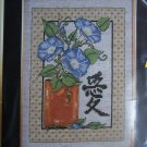 USA Free S&H New Counted Cross Stitch Craft Kit FENG SHUI Love Morning GLories