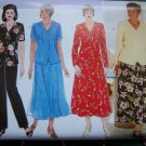 Delta Burke Womens Flared Dress Shirt Pants  A Line Skirt Plus Size 14 16 18 Sewing Pattern 4875