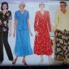 Delta Burke Womens Flared Dress Shirt Pants  A Line Skirt Plus Size 14 16 18 Sewing Pattern 4875