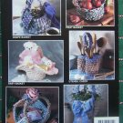New Annie's Attic Rag Crochet Patterns Baskets 426T