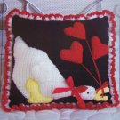 Annie's Attic Crochet Pattern Goose Pillow 8B008