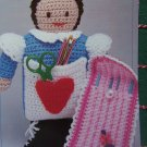 Annie's Attic Handy Crochet Hook Holders Patterns Doll and Travel Case