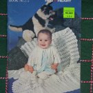 Vintage Knitting & Crochet Patterns Outfits for Baby 6M 1 yr 18M Red Heart 272