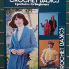 Easy Vintage Beginners Crochet Patterns Book 66 Raglans Shawl Afghan Baby Slipper Socks