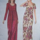 Easy Uncut Sewing Pattern 9159 Misses Jumpsuit Raised Pleated Waist Wide Leg 8 - 18