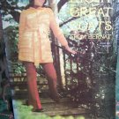 New 1970's Bernat Knitted & Crocheted Coat Jacket Coatdress Patterns 8 Great Coats 184