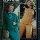 Womens Vintage Knitting & Crochet Patterns Cardigan Sweaters Brunswick 7312 Sizes 12 Plus to 48