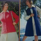 New Vintage Womens Cardigan Sweaters Brunswick Knitting & Crochet Patterns 7312