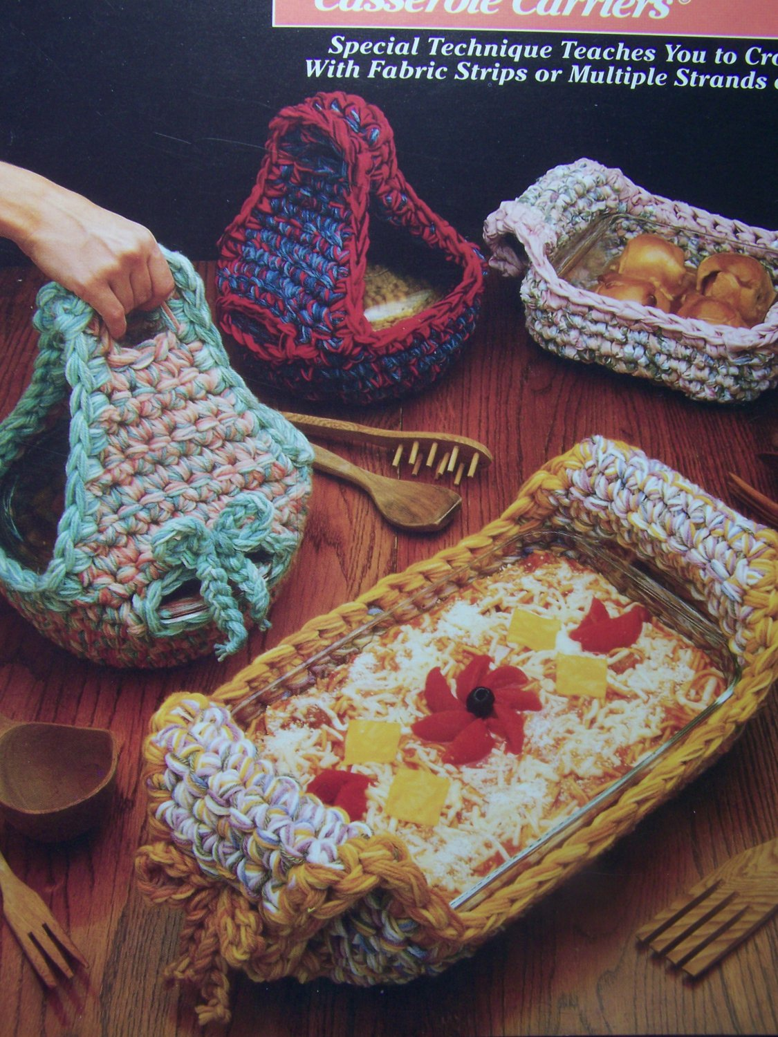 New Annie S Attic Crochet Patterns Casserole Carriers
