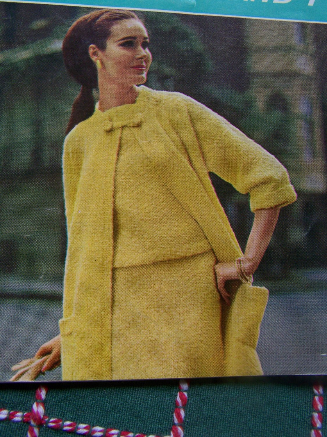 1960's Couture Knitting & Crochet Patterns Book 20 Dresses & Suit Sets