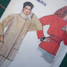 Vogue Vintage Misses Plus Size 18 20 22 Unlined Loose Wrap Jacket Sewing Pattern 8460