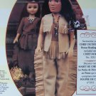 "New Fibre Craft Indian Chief Outfit Fits 15"" Doll Pow Wow Costume"
