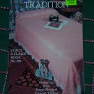 Vintage Crochet Patterns 309 Bedspread Pillow Dresser Tablecloth Table Runner Scarf