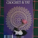 Vintage Laces to Knit Crochet & Tat Book 317 Doilies Doily