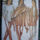 Uncut New Look Sewing Pattern 6461 Misses Jacket Tunic Top SKinny Pants Wrap Scarf