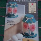 Red Heart Coats & Clark Crochet Country Kitchen Accents Book 359